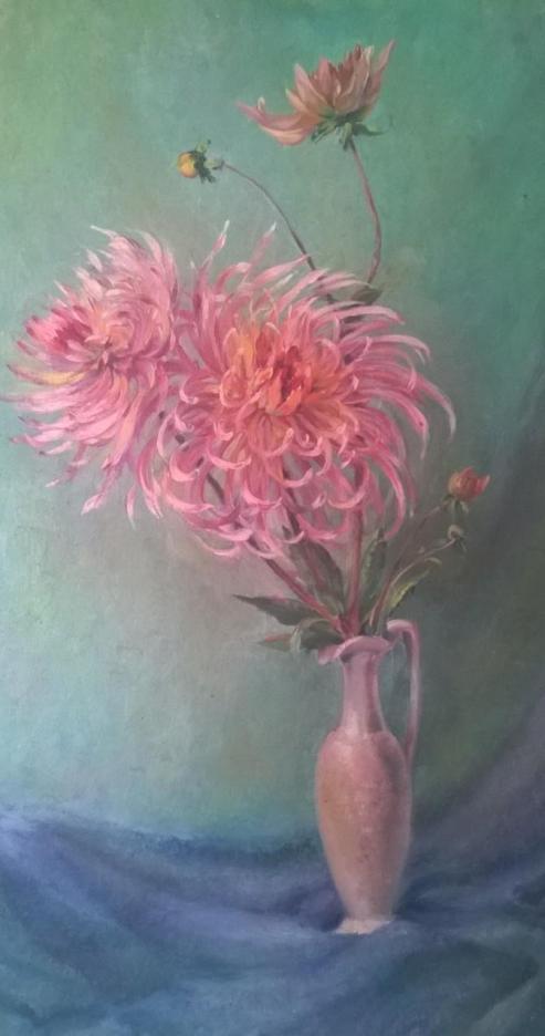 Bloemen op vaas 20150705