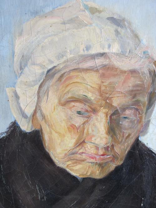 Grietje van Beelen Katwijkse vrouw 1923